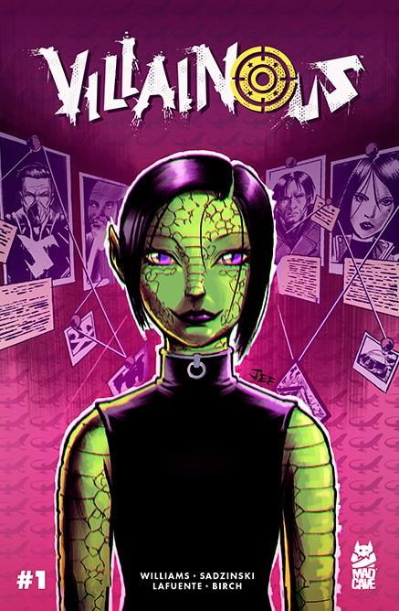 Comic Book Review: Villainous #1