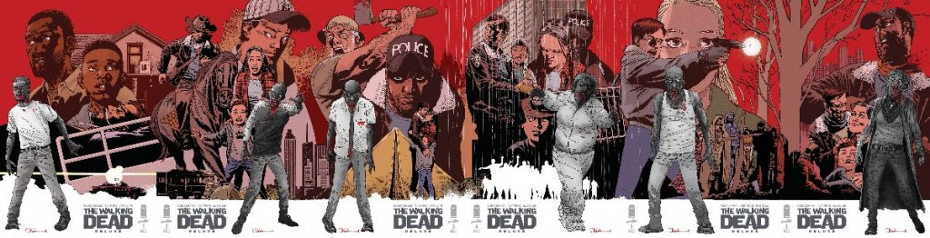 IMAGE/SKYBOUND'S THE WALKING DEAD DELUXE GETS SIX STUNNING CHARLIE ADLARD CONNECTING COVERS