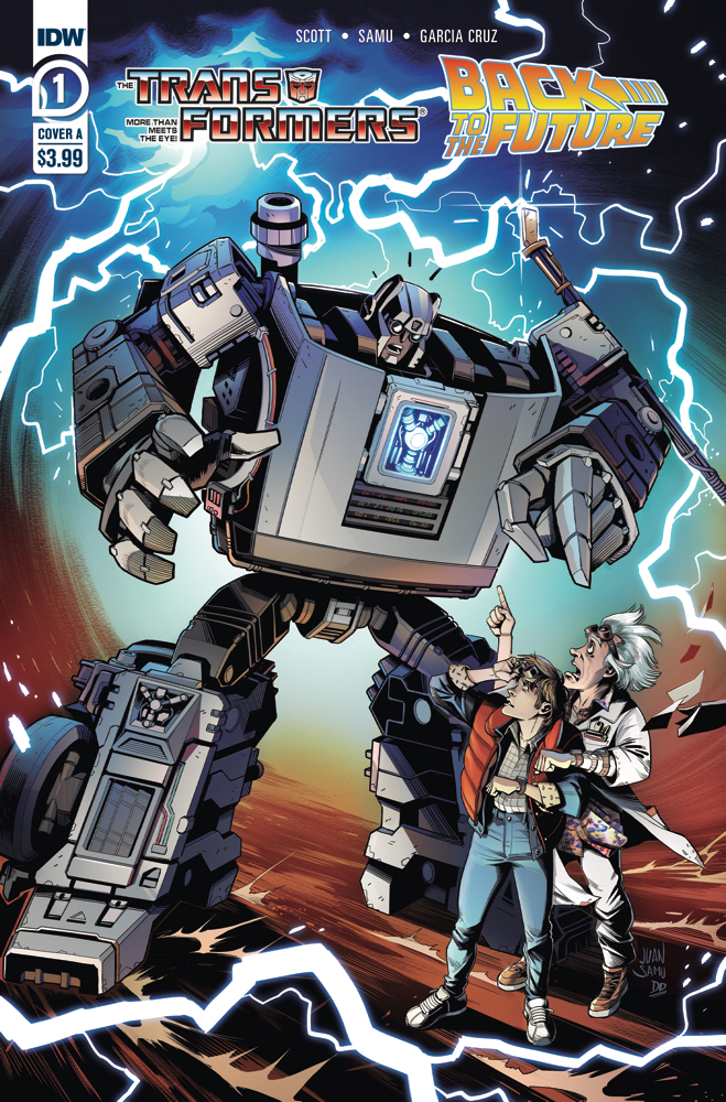 Transformers Back to the Future #1 Review: This is Heavy…Metal