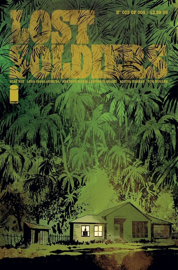 Lost Soldiers #3 Review