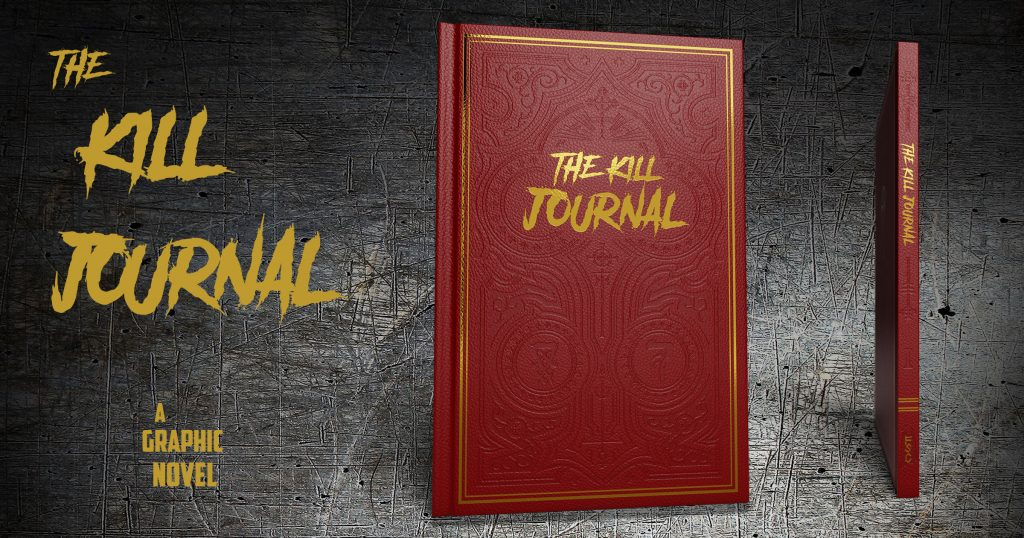 OGN The Kill Journal Gets the Hollywood Treatment with a Coveted Leather-bound Cover
