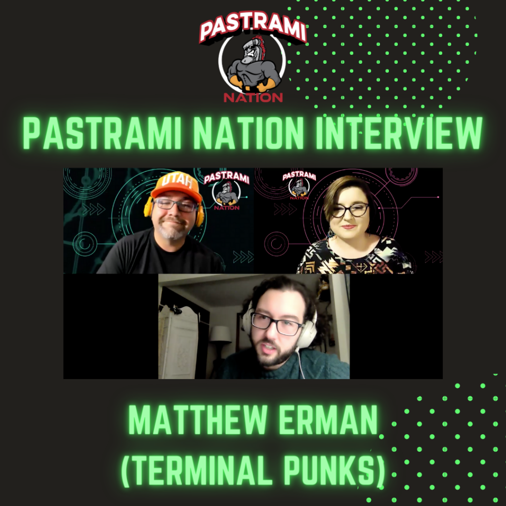 Pastrami Nation Interview: Matthew Erman- Terminal Punks from Mad Cave Studios