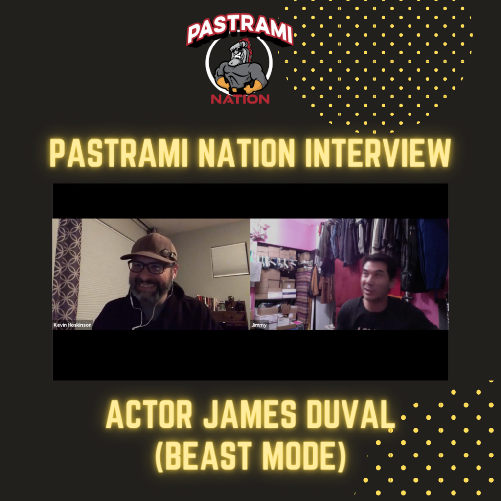 Pastrami Nation Interview: Actor James Duval on his new movie, Beast Mode