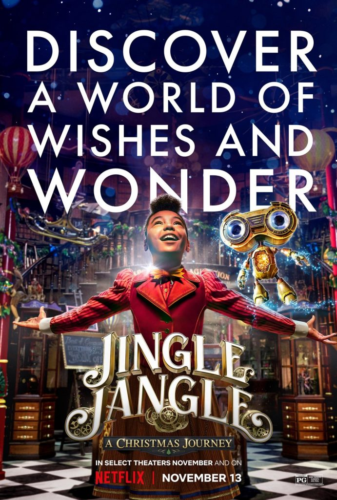 Movie Review- Jingle Jangle: A Christmas Journey