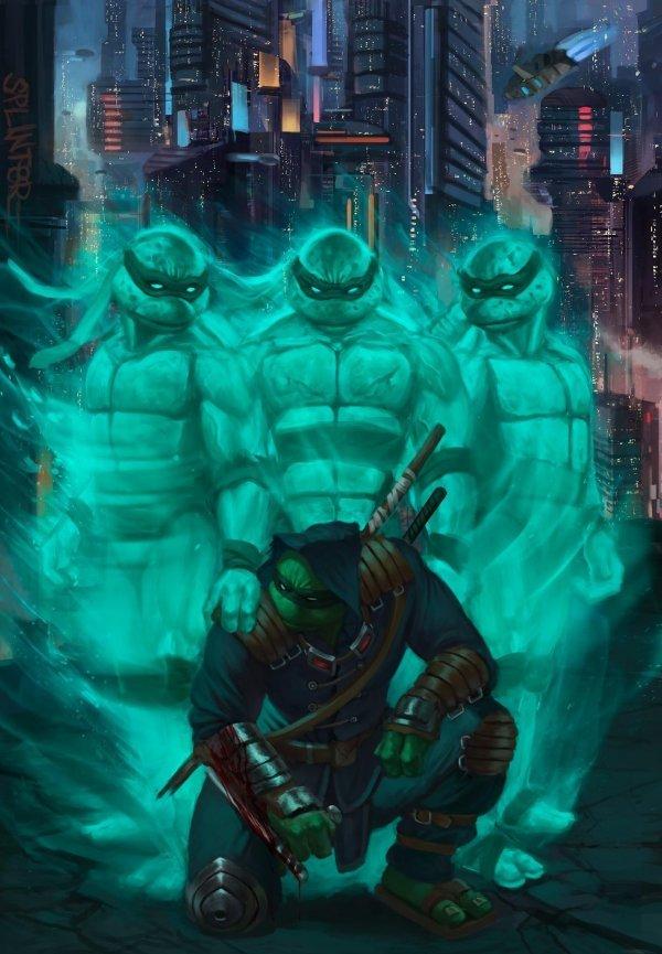 Comic Book Review: Teenage Mutant Ninja Turtles: The Last Ronin #1
