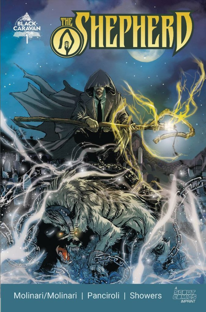 THE SHEPHERD Arrives This January From The Scout Comics Imprint Black Caravan