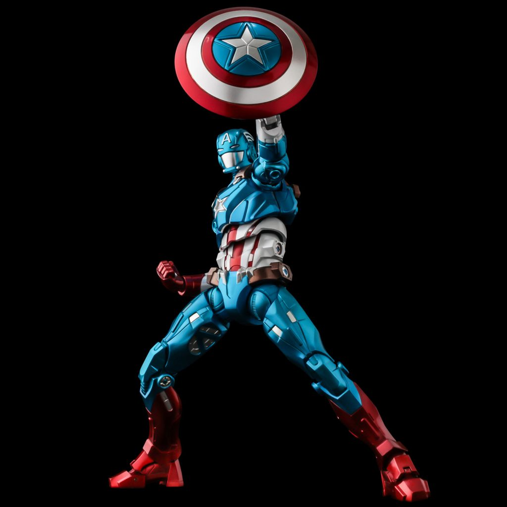 Sentinel and Bluefin Announce Marvel Fighting Armor Captain America Figure