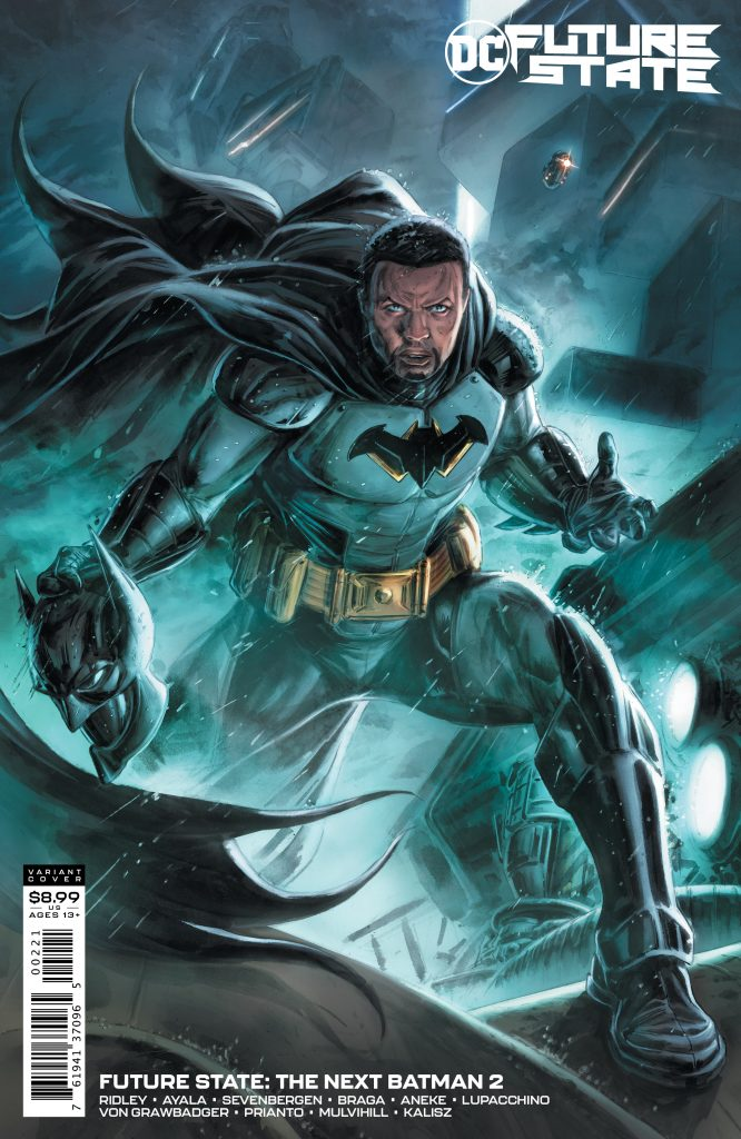 THE IDENTITY OF THE NEXT BATMAN REVEALED IN SPECIAL VARIANT COVER FOR FUTURE STATE: THE NEXT BATMAN #2!