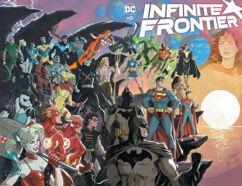 DC's Infinite Frontier #0 Brings Together the Best Creative Talent in Comics to Introduce the Next Phase of the DC Universe