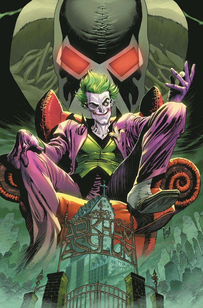 The Joker Faces A Worldwide Manhunt, A Determined EX-Cop and Mysterious New Enemies in The Joker, An All-New Ongoing Monthly Series from DC!