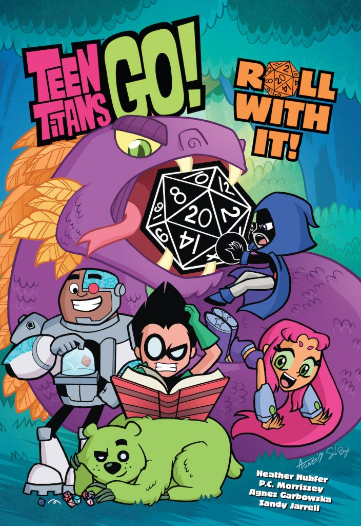 Graphic Novel Review: Teen Titans Go! Roll With It