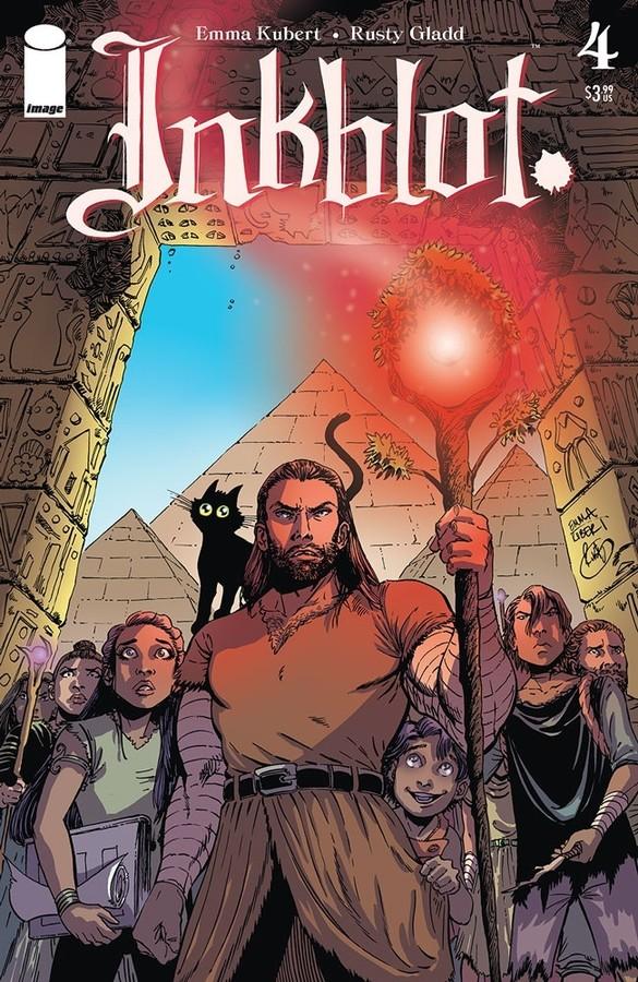 Comic Book Review: Inkblot #4: That Darn Cat!