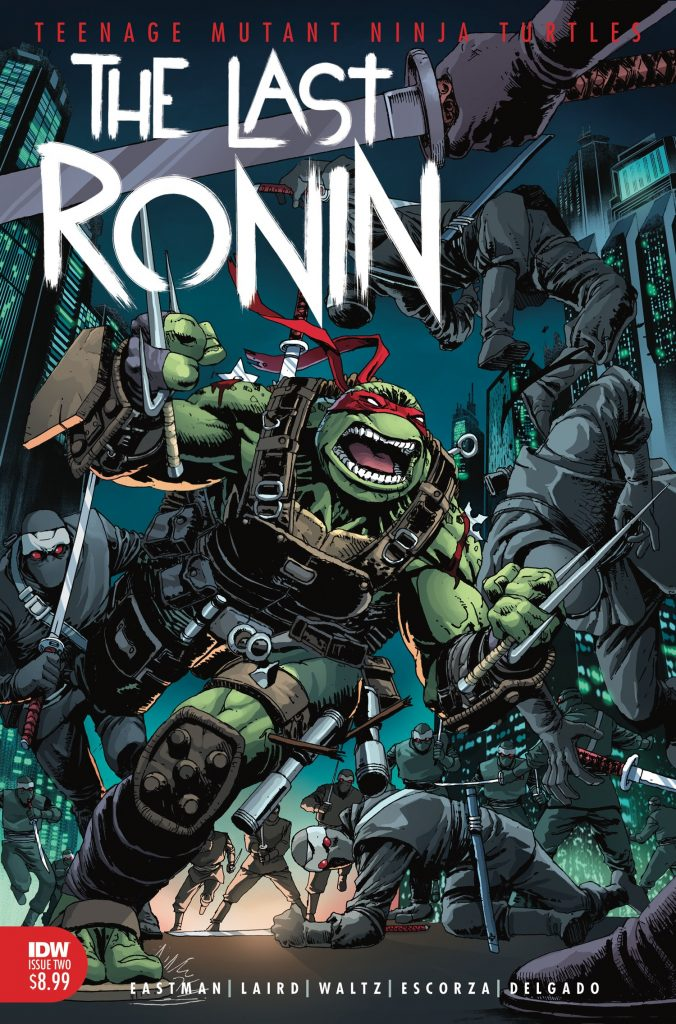 Teenage Mutant Ninja Turtles: The Last Ronin #1 Second Printing Shatters Expectations with 50K Print Run, Second Issue Hits Shelves in January