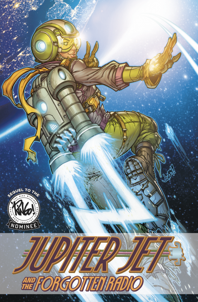 Graphic Novel Review: Jupiter Jet and the Forgotten Radio