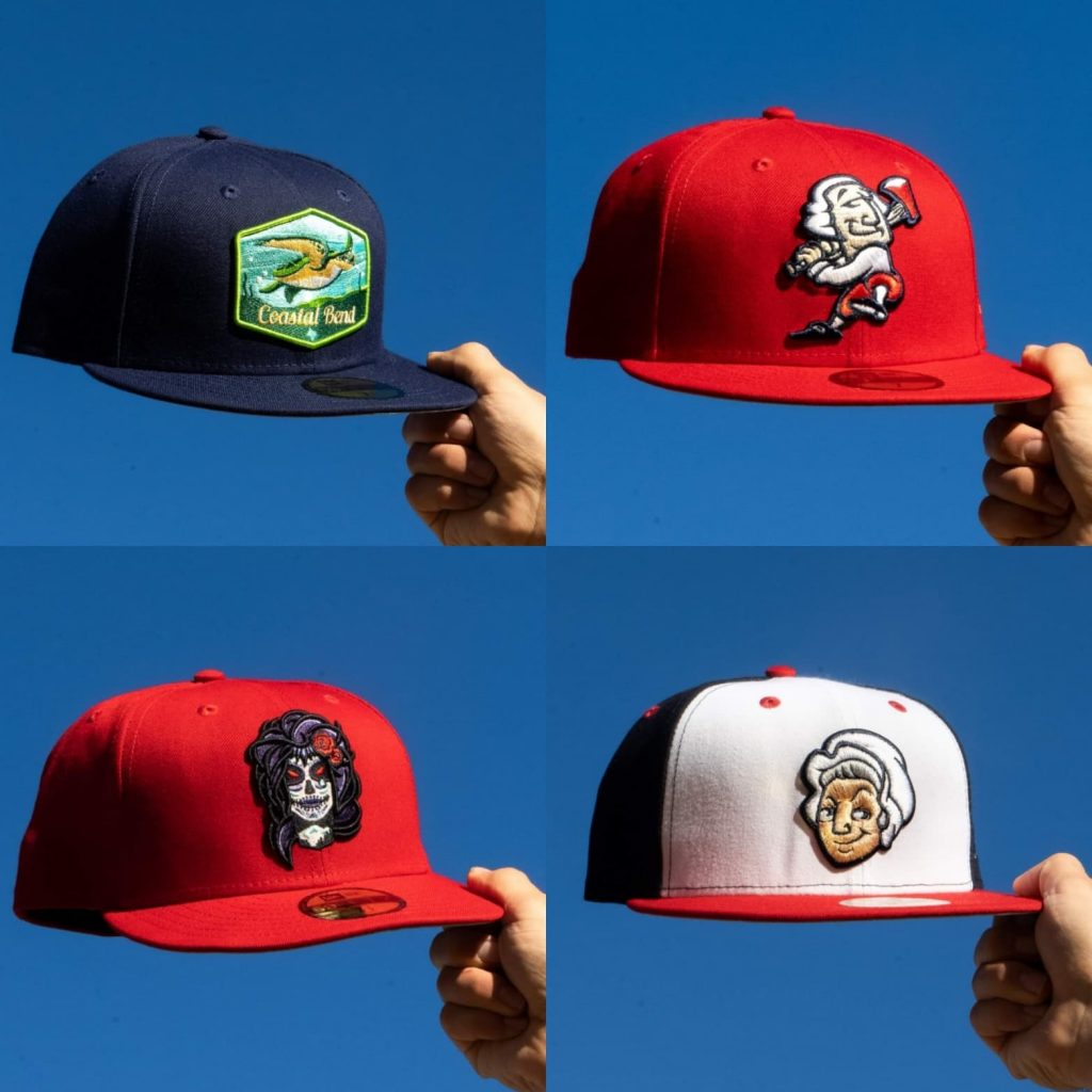Minor League Hat Drop at Hat Club on 1/18