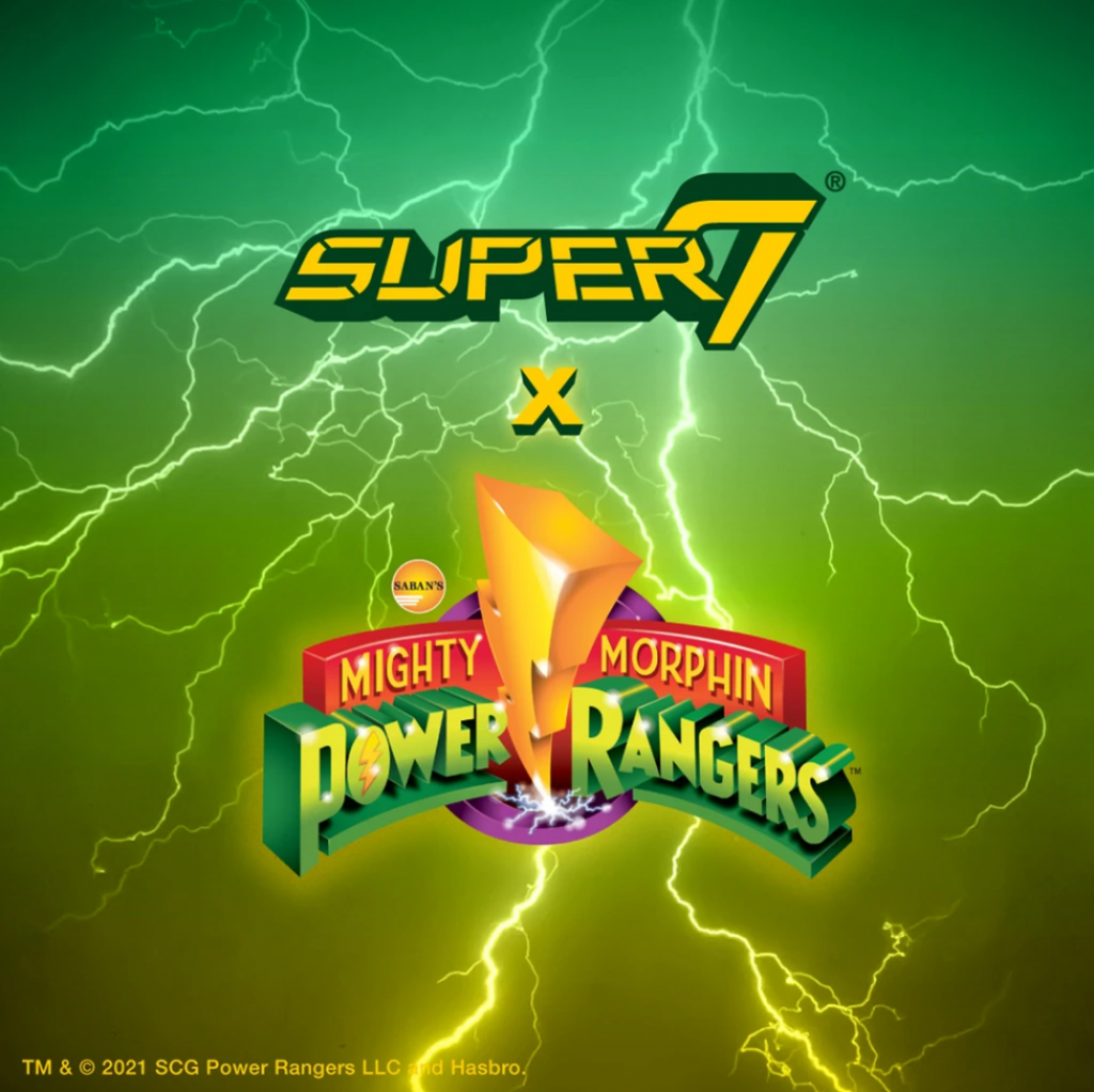 Super7 and Hasbro to Team Up for Mighty Morphin Power Rangers ReAction Figures, Ultimates and More