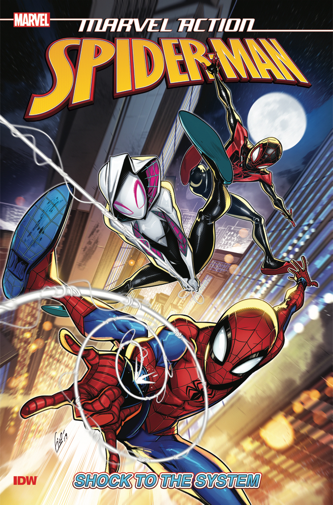 Graphic Novel Review: Spider-Man: Shock to the System