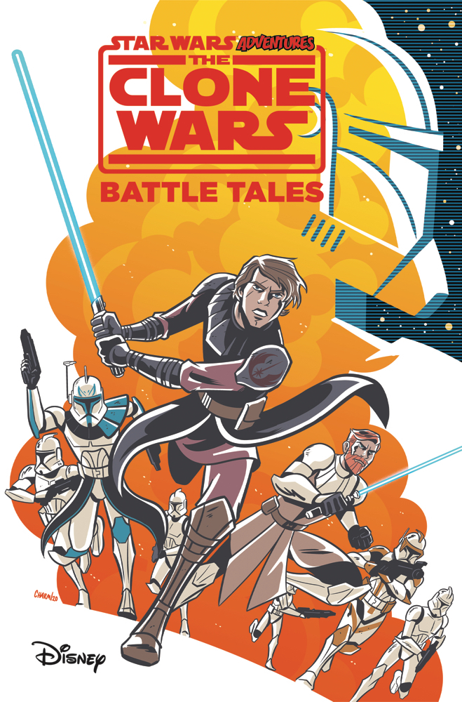 Graphic Novel Review: Star Wars Adventures- The Clone Wars – Battle Tales