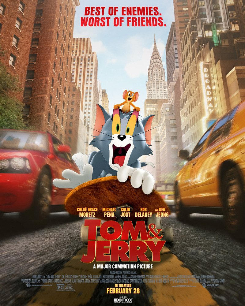 Movie Review: Tom and Jerry