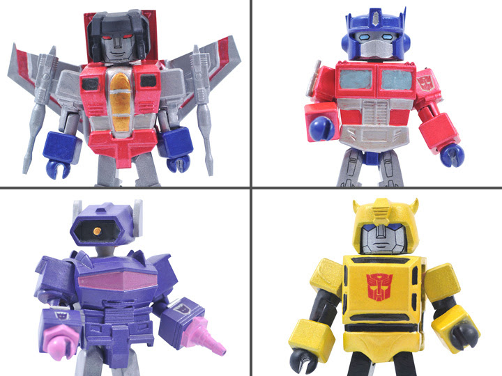 Transformers Minimates Series 1 Box Set- Now Available for Pre-Order