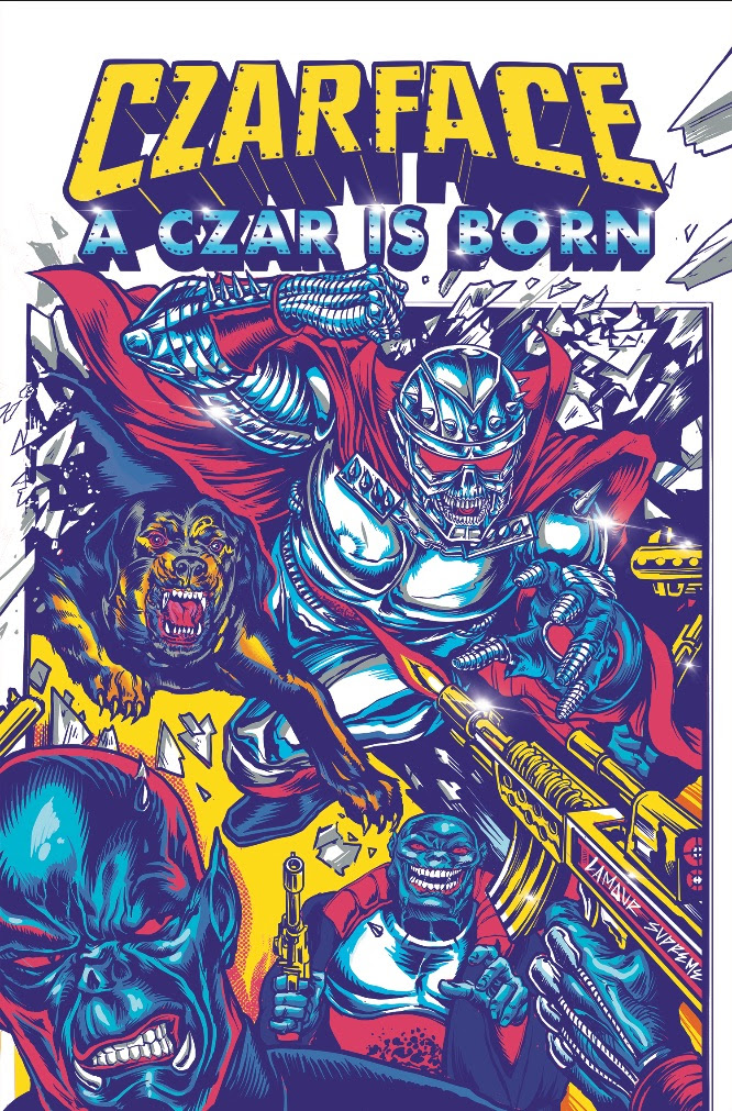 CZARFACE ANNOUNCES WIDELY SPECULATED AND ANTICIPATED GRAPHIC NOVEL DEBUT TO BE PUBLISHED BY Z2 COMICS
