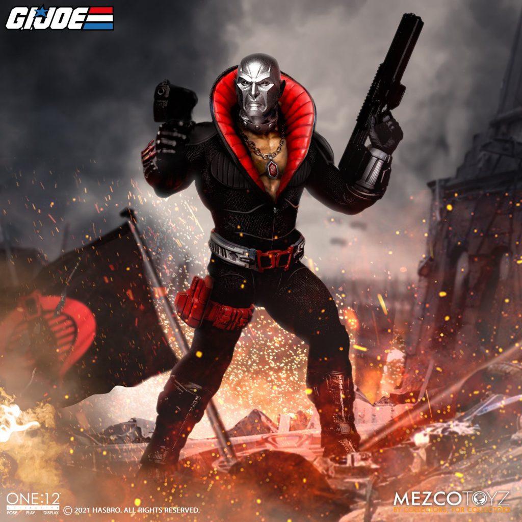 Mezco One: 12 Collective G.I. Joe Destro Now Available for Pre-order