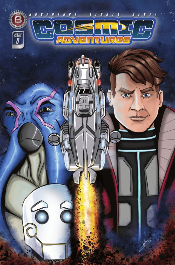 Comic Book Review: Cosmic Adventures #0