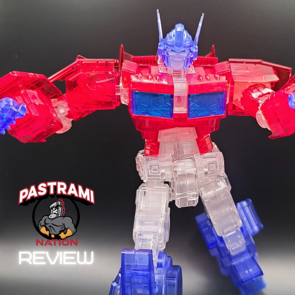 Flame Toys Transformers Optimus Prime (Clear SDCC IDW Version) Model Review