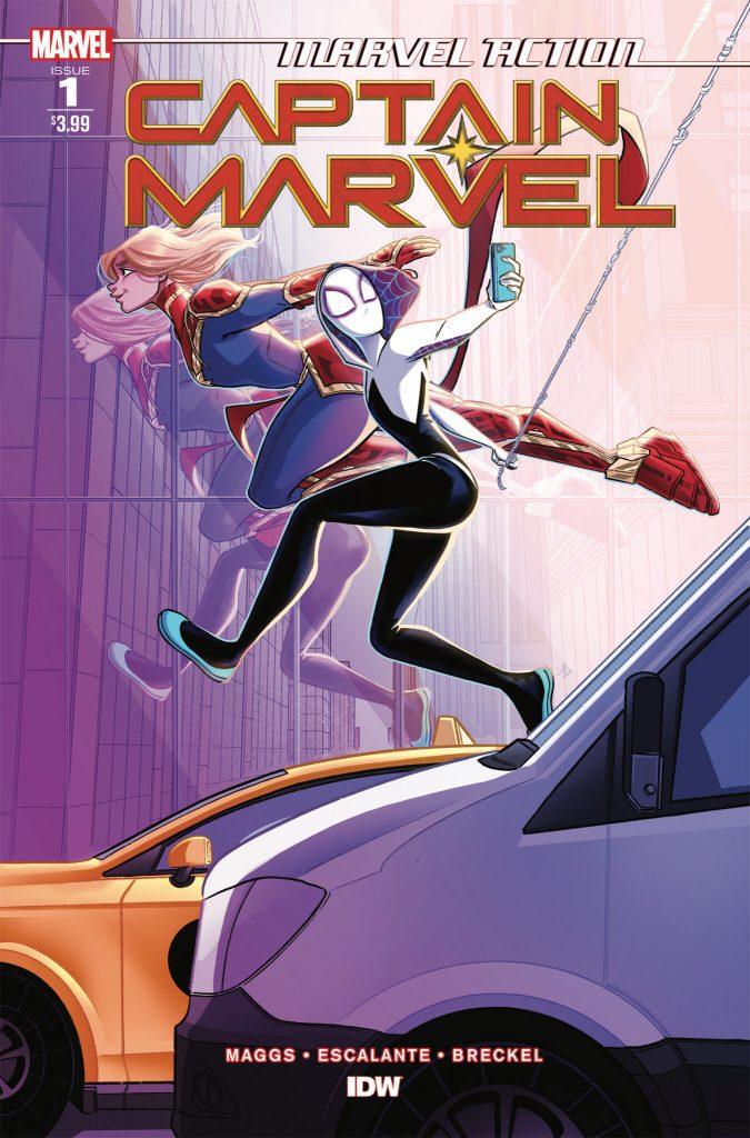 Comic Book Review: Marvel Action: Captain Marvel Vol 2 #1