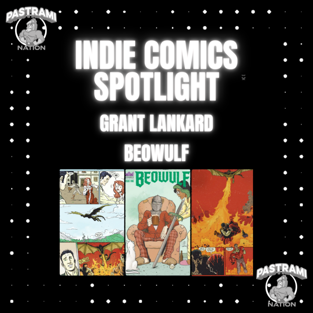 Indie Comics Spotlight: Grant Lankard- Beowulf