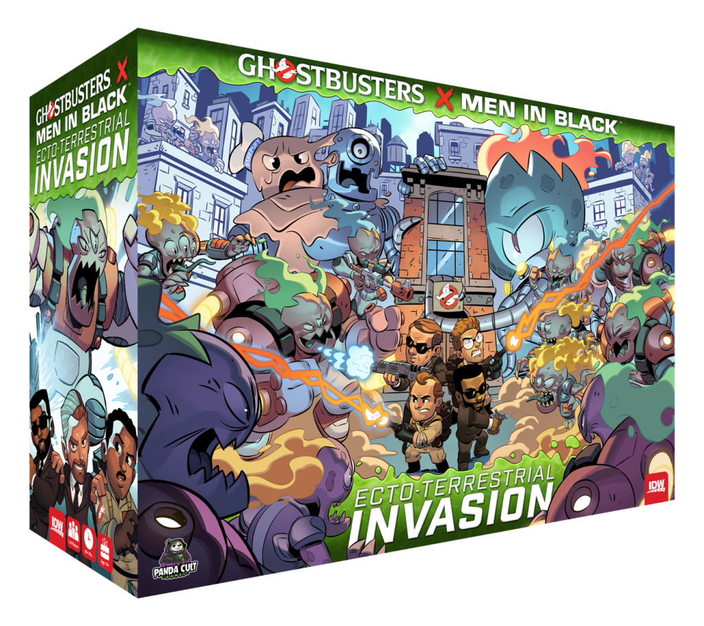 Ghostbusters x Men in Black: Ecto-Terrestrial Invasion Game Lands This Year with an Exclusive Preorder Event