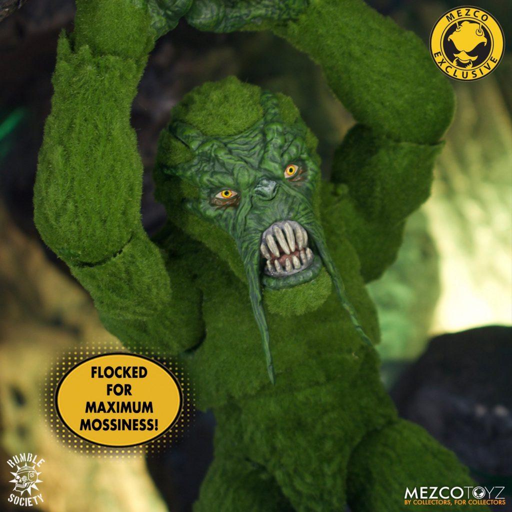 Mezco Announces Mossquatch! With Hazard Squad Adventure Pack