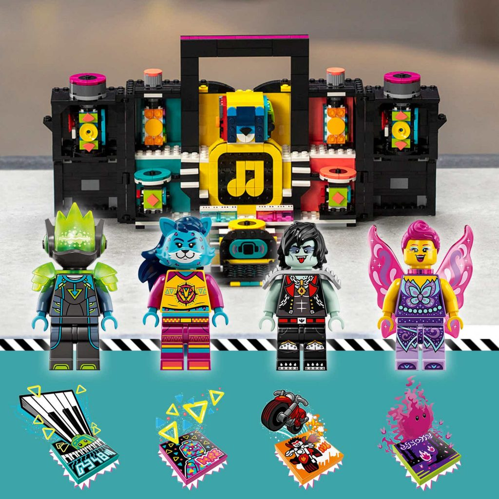 New Beats from The LEGO Group and Universal Music Group as they add to the LEGO VIDIYO line-up