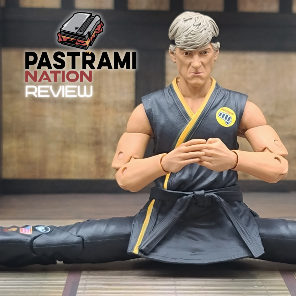 Action Figure Review: The Karate Kid-Johnny Lawrence Action Figure from Icon Heroes