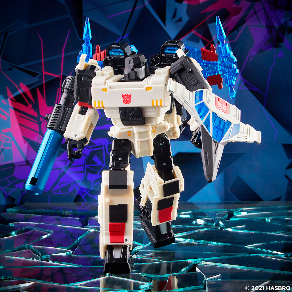 Hasbro Announces Transformers: Generations Shattered Glass Voyager Class Megatron