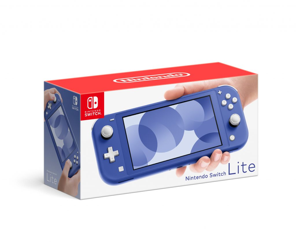 Nintendo Offers More Ways to Play With the Launch of a Blue Nintendo Switch Lite System