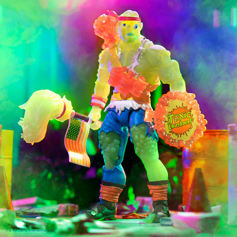 Introducing Radioactive Red Rage Toxie from Super7
