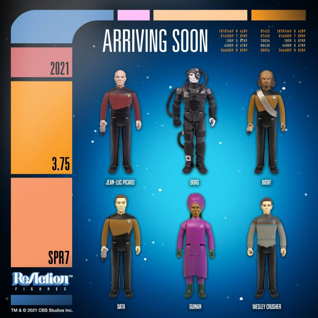 Take Your ReAction Collection Into Warp Speed with Star Trek from Super7