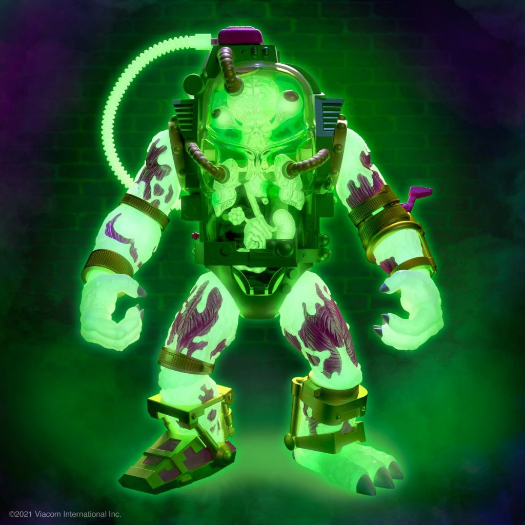 Glow-In-The-Dark TMNT Mutagen Man ULTIMATES! Figure from Super7 Now Up for Preorder