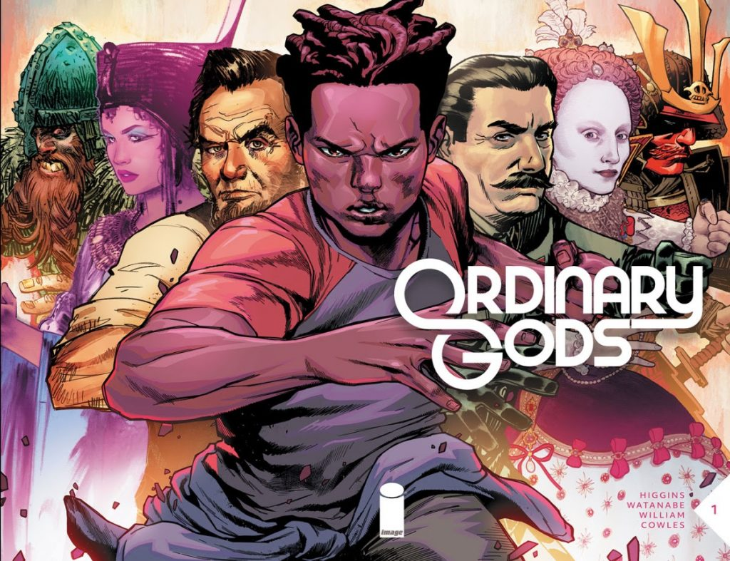 HIGGINS & WATANABE TO LAUNCH CENTURIES-SPANNING EPIC SCI-FI/FANTASY SERIES—ORDINARY GODS—THIS JULY