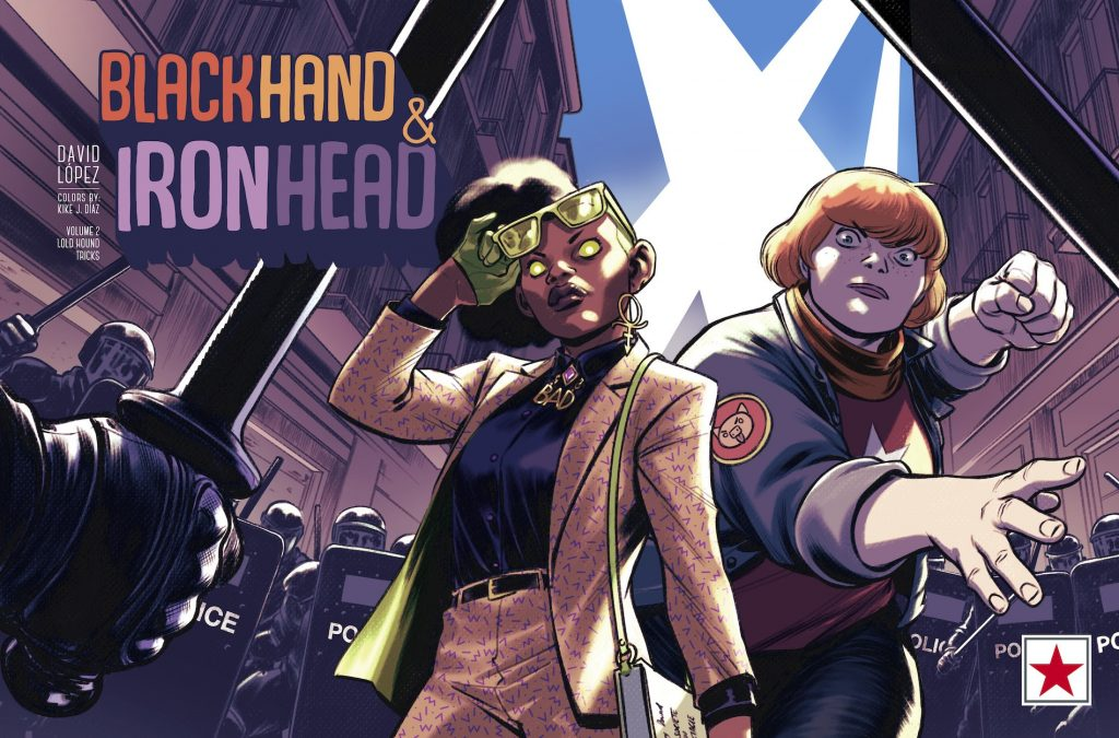 BlackHand & IronHead Volume 2 Comes to Panel Syndicate