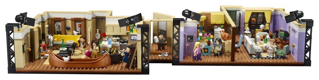 THE ONE WITH THE LEGO FRIENDS APARTMENTS SET