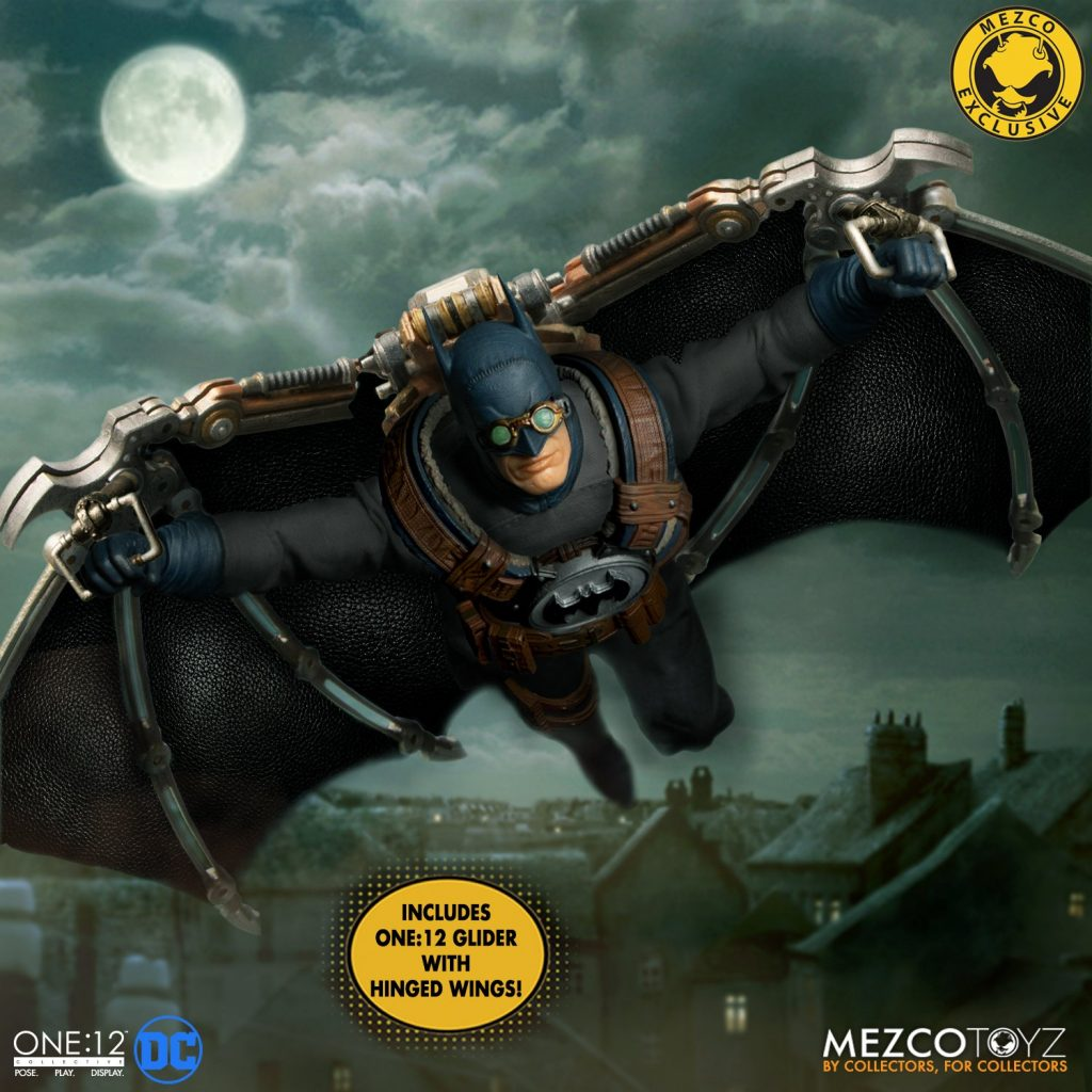 Mezco One:12 Collective Batman: Gotham by Gaslight Now Up for Preorder