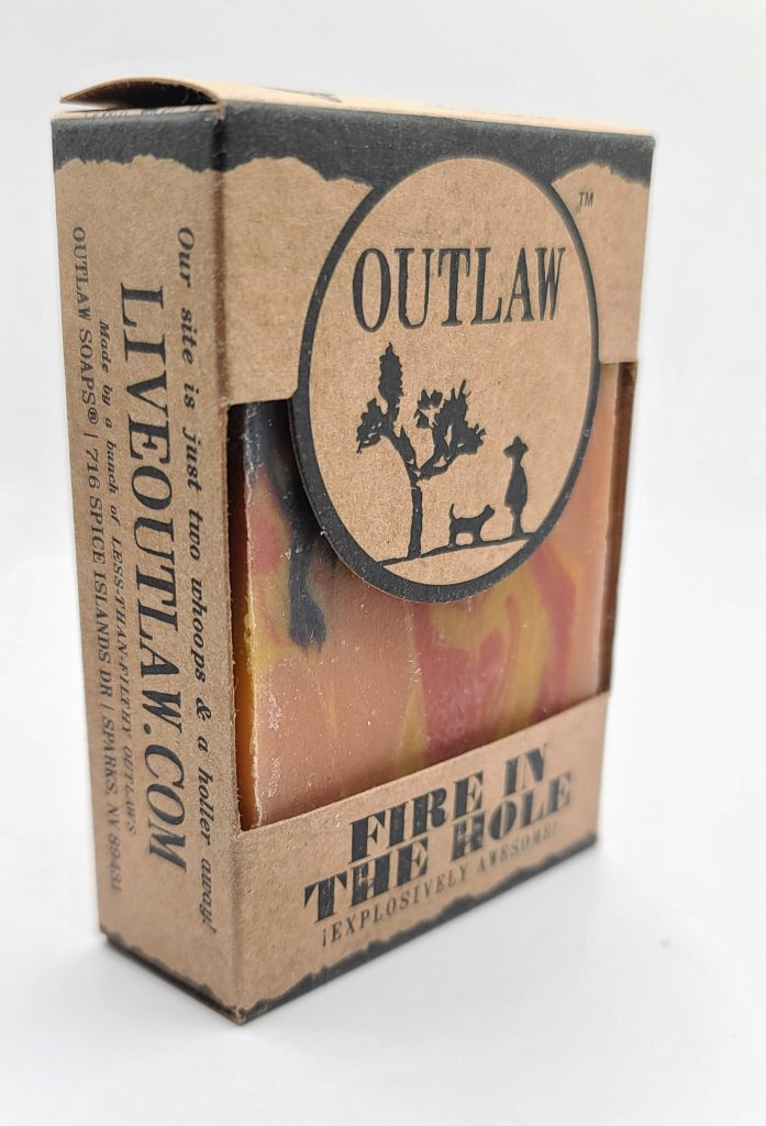 Lifestyle Review- Outlaw Soaps- Fire in the Hole