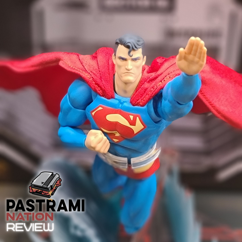 Action Figure Review: Mafex Hush Superman