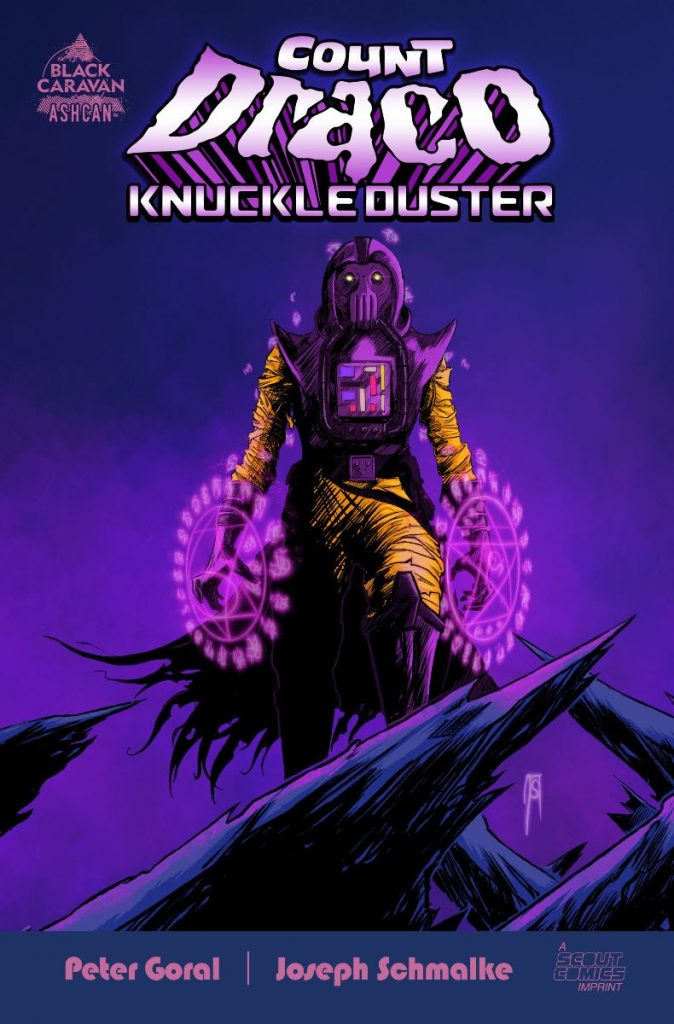 The Sinister Celestial Sorcerer COUNT DRACO KNUCKLEDUSTER Arrives This July From Scout Comics/Black Caravan