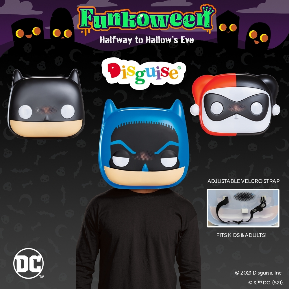 Disguise Announces Global Multi-year Contract With Funko to Create Pop! Masks for Collectors and Halloween Fanatics