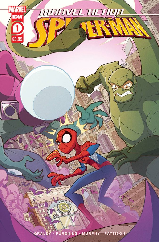 Comic Book Review: Marvel Action Spider-Man V.3 #1