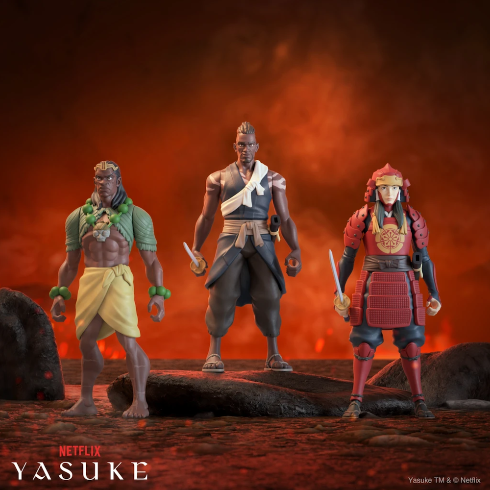 Super7 to Release Collectible Figures for Netflix's Yasuke and Eden Anime Series