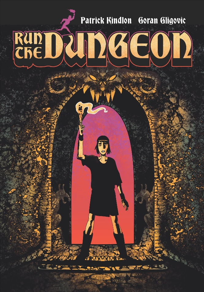 PATRICK KINDLON AND GORAN GLIGOVIC'S RUN THE DUNGEON ARRIVES FROM Z2 COMICS WITH EXCLUSIVE SOUNDTRACK!